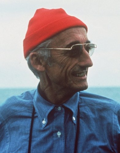 Jacques cousteau would be heartbroken at our seas today
