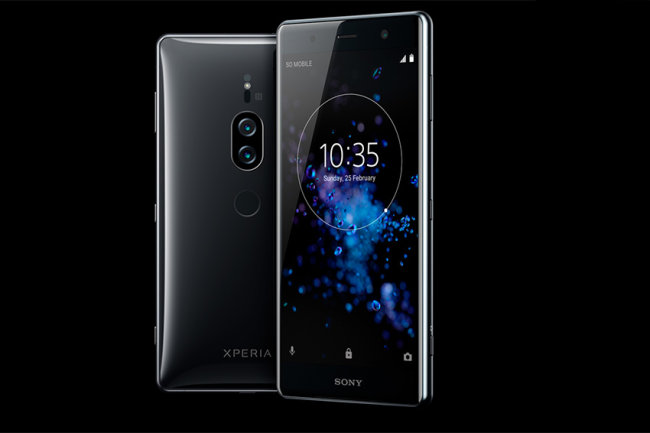 Smartphone Sony with a super camera came to Russia, called