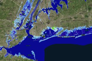 Фото: NOAA Sea Level Rise Viewer