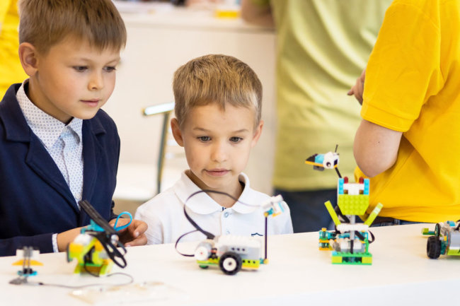 Фото: Пресс-служба LEGO Education