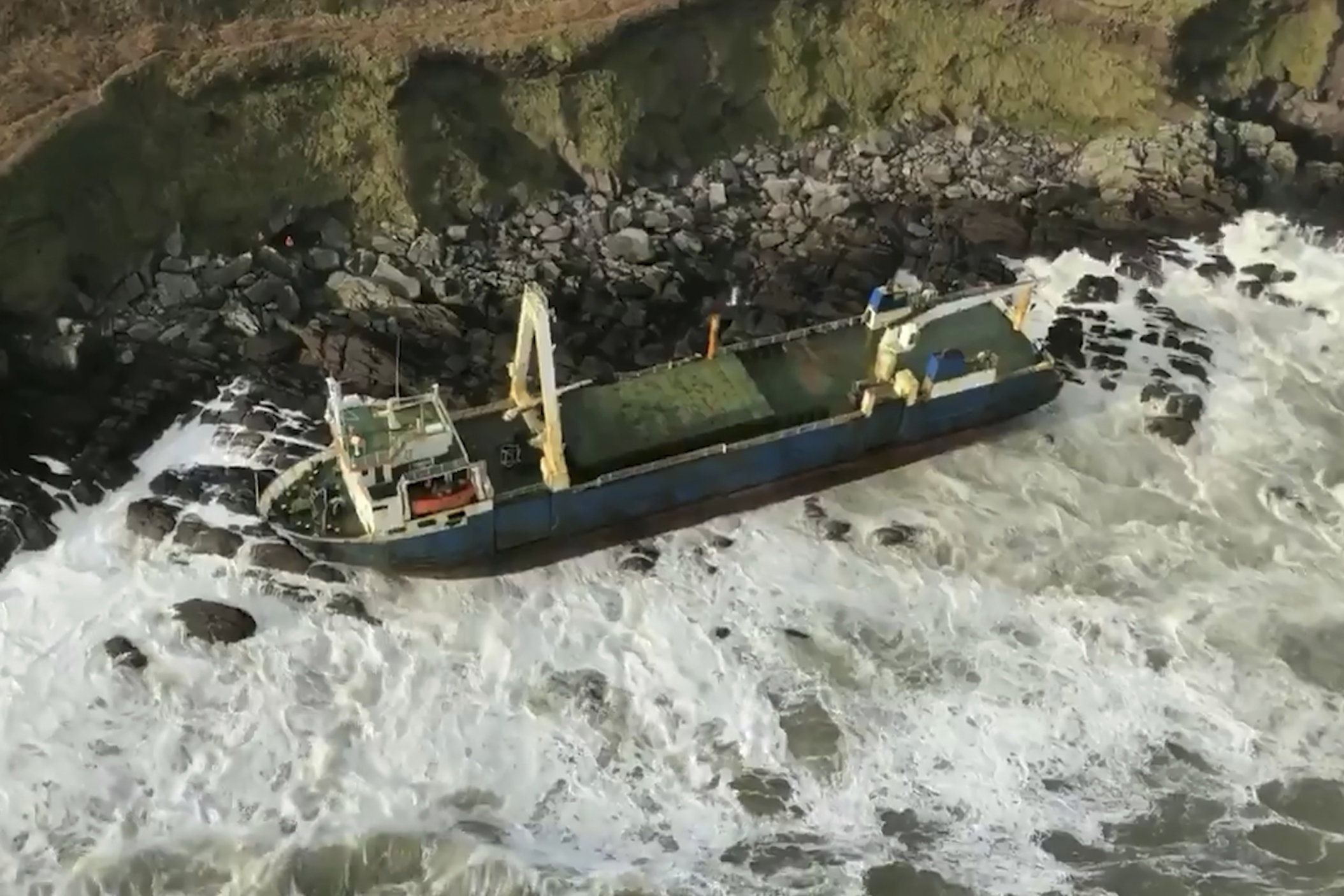 Фото: Irish Coast Guard via AP