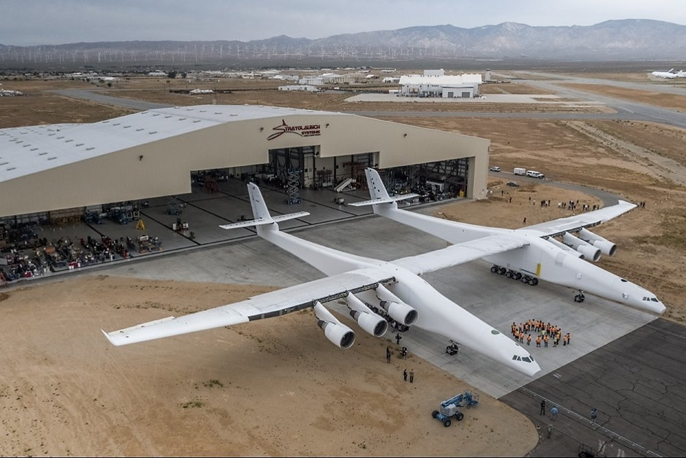 Фото: AFP PHOTO / Stratolaunch Systems Corp / April Keller