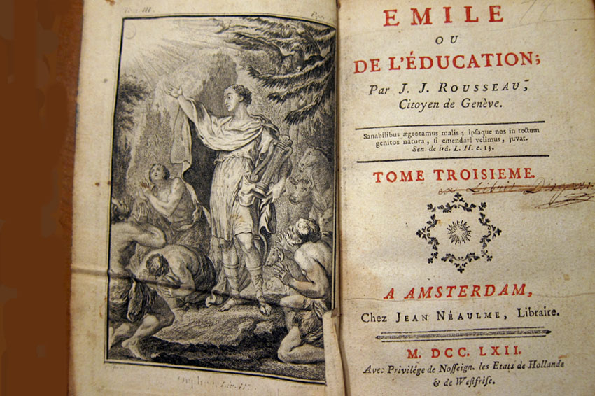an analysis of the childs future in emile by jean jacques rousseau The citizen is but the numerator of a fraction (rousseau one infinitely preferable to the existing onewilliam wordsworth's and jean jacques rousseau's concept of education 63 which the child should be allowed to form is to contract no habit whatever were those found in the laws of his own nature.