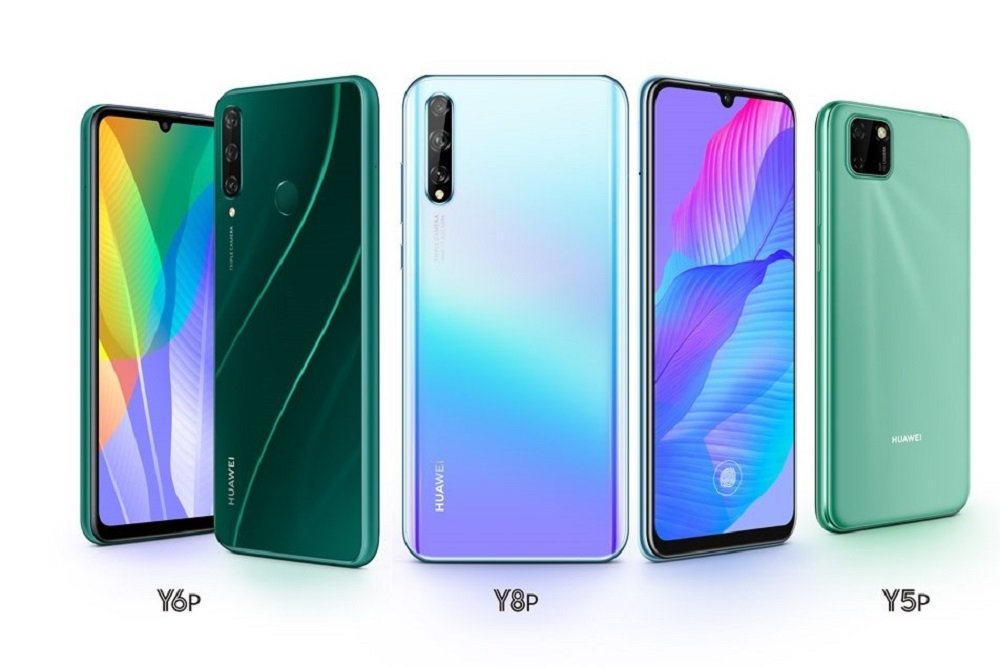HUAWEI Y8p is a beautiful device. You can choose from two colors - light blue and midnight black.